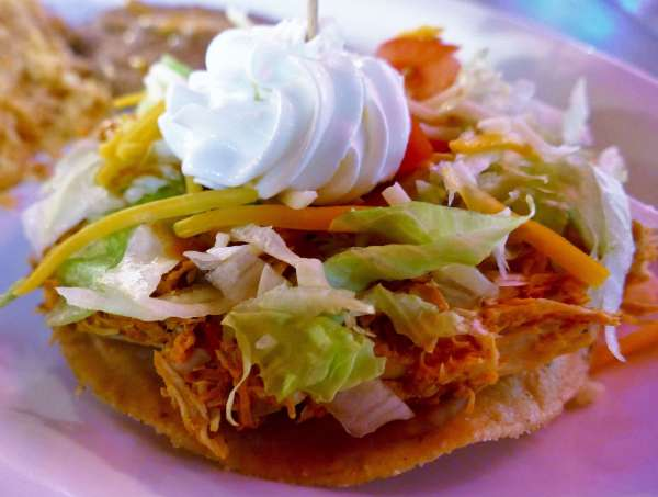 Wild and Crazy Beef Tostada